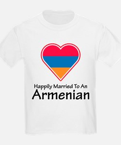 Happily Married Armenian Kids T-Shirt