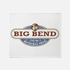 Big Bend National Park Throw Blanket