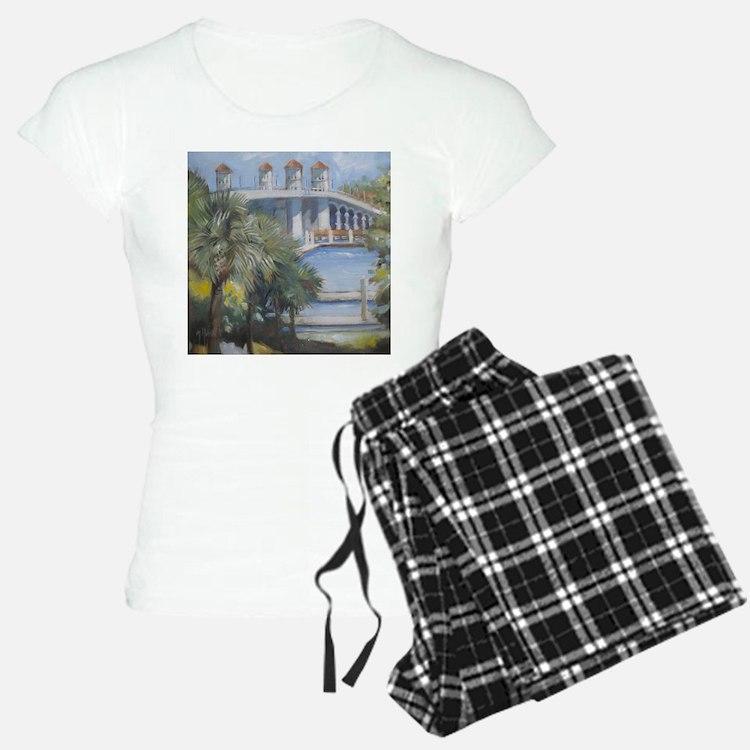 St Augustine Bridge of Lions Pajamas