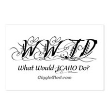 JCAHO WWJD 3 Postcards (Package of 8)