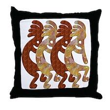 KOKOPELLI ROCK ART Throw Pillow