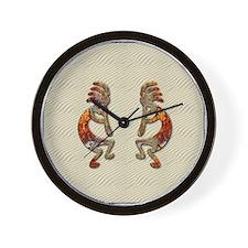KOKOPELLI'S FLUTE Wall Clock