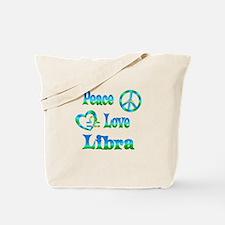 Peace Love Libra Tote Bag