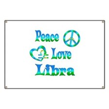 Peace Love Libra Banner