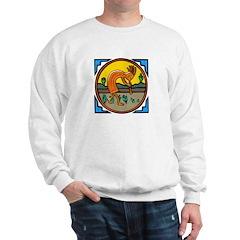 KOKOPELLI IN AGATE Sweatshirt