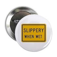 Slippery When Wet - USA Button