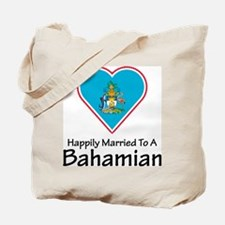 Happily Married Bahamian Tote Bag