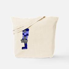 Robot Left Tote Bag