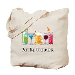 Party Trained Tote Bag