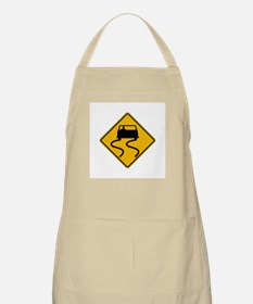 Car Slippery When Wet - USA BBQ Apron