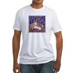 UNICORN IN CAPTIVITY Fitted T-Shirt