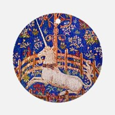 UNICORN IN CAPTIVITY Ornament (Round)
