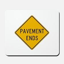 Pavement Ends 2 - USA Mousepad