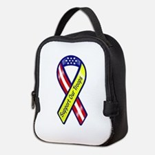 Support our troops ribbon Transparent.png Neoprene
