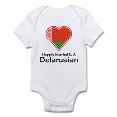 Happily Married Belarusian Infant Bodysuit
