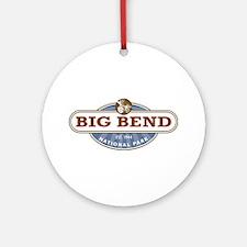Big Bend National Park Ornament (Round)