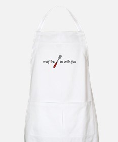 may the fork be with you BBQ Apron