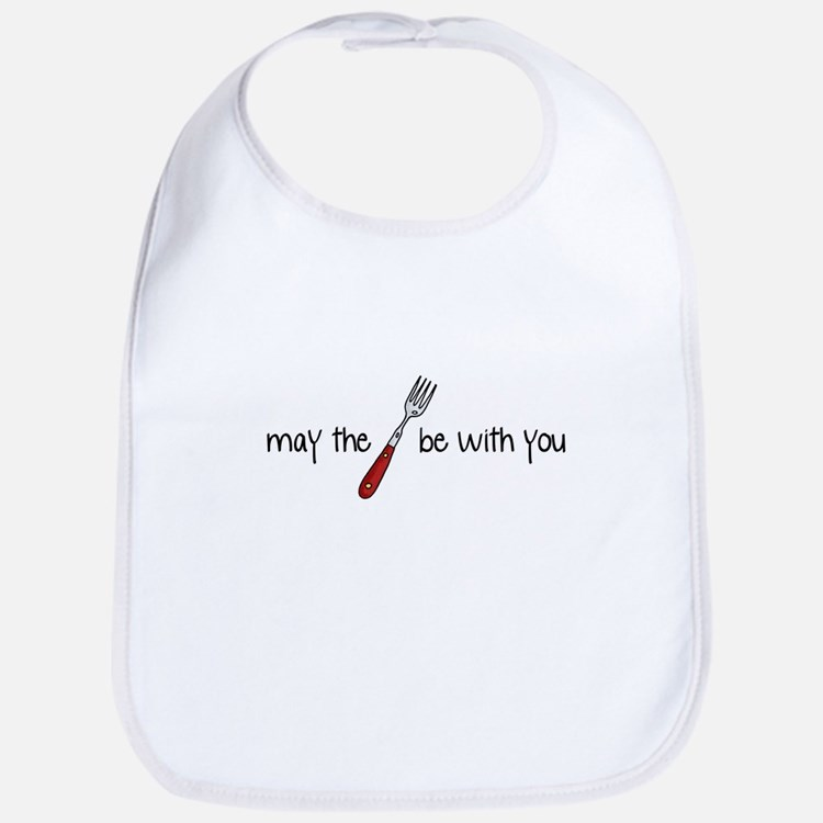 may the fork be with you Bib