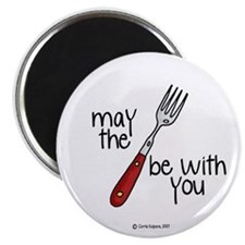 may the fork be with you Magnet