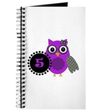 5 Years Old Adorable Owl Journal
