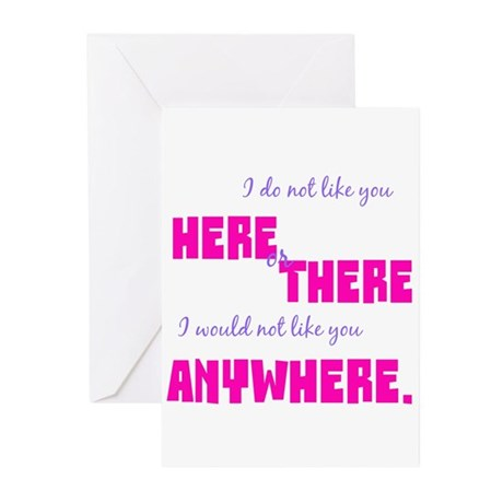 Would Not Like You Greeting Cards (Pk of 10)