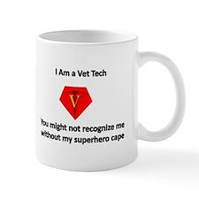 vet tech superhero Mugs