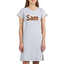 Sam Fall Leaves Women's Nightshirt