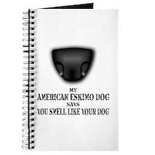 My American Eskimo Dog Says Journal