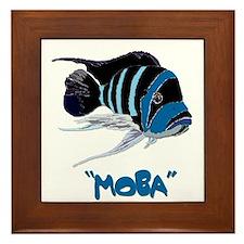 Moba Logo Framed Tile