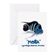 Moba Logo Greeting Cards (Pk of 10)