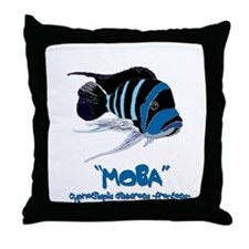 Moba Logo Throw Pillow