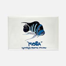 Moba Logo Rectangle Magnet