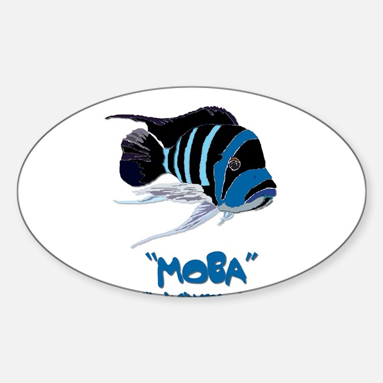 Moba Logo Oval Decal