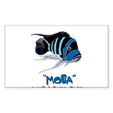 Moba Logo Rectangle Decal