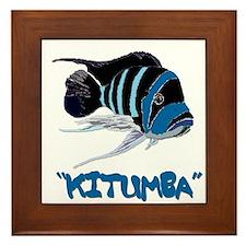 Kitumba w/logo Framed Tile