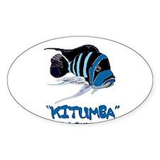 Kitumba w/logo Oval Decal