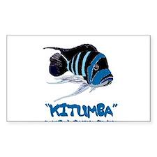 Kitumba w/logo Rectangle Decal