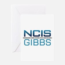 NCIS Logo Gibbs Greeting Card