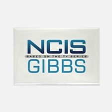 NCIS Logo Gibbs Rectangle Magnet