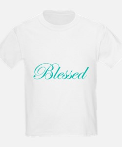 Aqua Blessed Kids T-Shirt