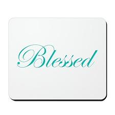 Aqua Blessed Mousepad