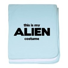 This Is My ALIEN Costume Infant Blanket