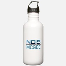 NCIS Logo McGee Water Bottle