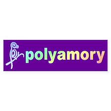 poly ... Bumper Bumper Sticker
