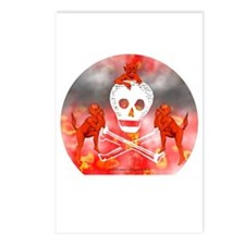 Devils & Skull Postcards (Package of 8)