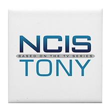 NCIS Logo Tony Tile Coaster