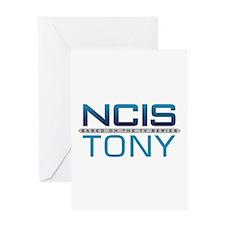 NCIS Logo Tony Greeting Card