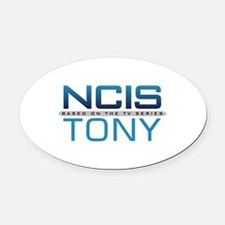 NCIS Logo Tony Oval Car Magnet