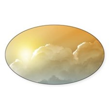 Sunset in the Clouds Decal