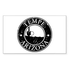 Tempe, AZ Rectangle Decal